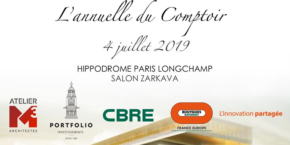 Soirée Annuelle Comptoir de l'Immobilier à ParisLongchamp