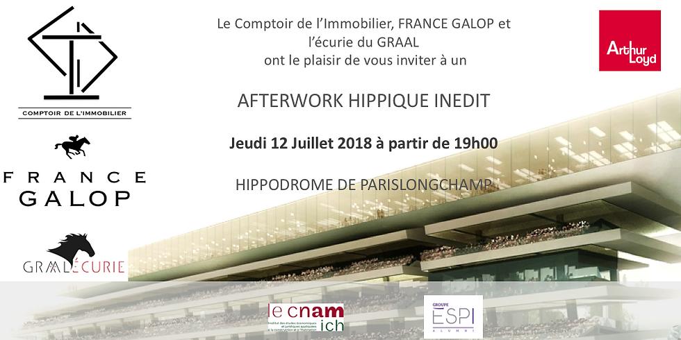 Afterwork Hippique inédit à l'Hippodrome de Paris Longchamp
