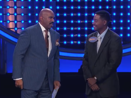 That time I was on FAMILY FEUD! 😅