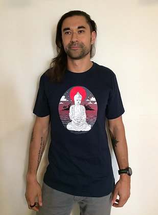 NEW!! Buddha Sunset Unisex T-Shirt