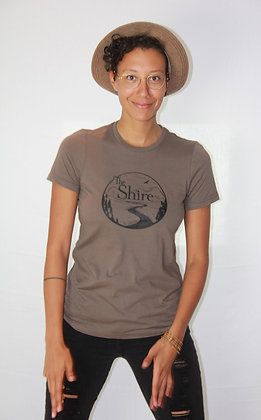 The Shire Women's T-Shirt - Walnut