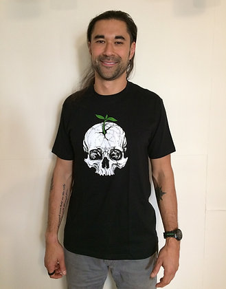 Skull and Sprout Unisex T-Shirt