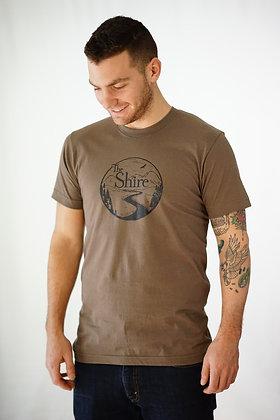The Shire Unisex T-Shirt - Walnut