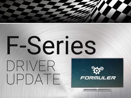 Formuler F-Series Driver Update