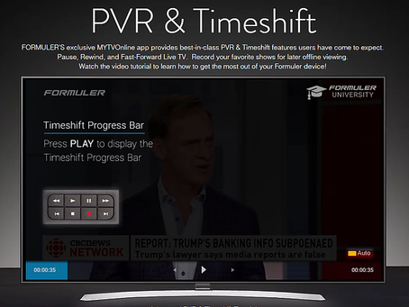 MYTVOnline PVR & Timeshift Tutorial