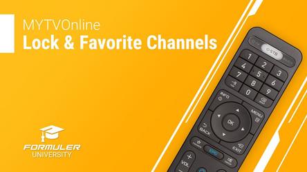 MYTVOnline Lock and Favorite Channels