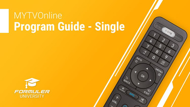 MYTVOnline Program Guide - Single