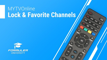 MYTVOnline Lock and Favorite Channels