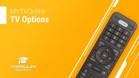 MYTVOnline TV Options