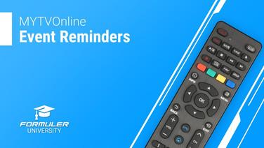 MYTVOnline Event Reminders