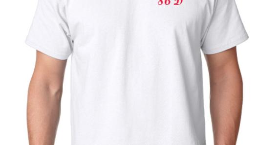 86D White/Red Tshirt
