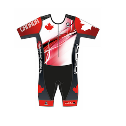 CAN TRI Champ Men's Short Sleeve Tri Suit