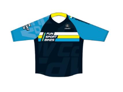 FSB Women's MTB Jersey 3/4 sleeve