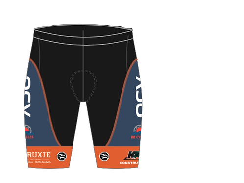 OCV Womens Z-1 Long Cycling Shorts