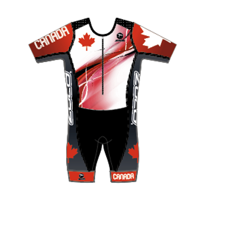 CAN Champ Women's Short Sleeve Tri Suit