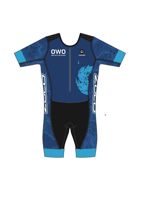 OWO Men's Short Sleeve Tri Suit
