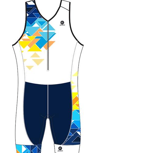 PRO ASHVA Men's Sleeveless AquaSpeed Tri Suit
