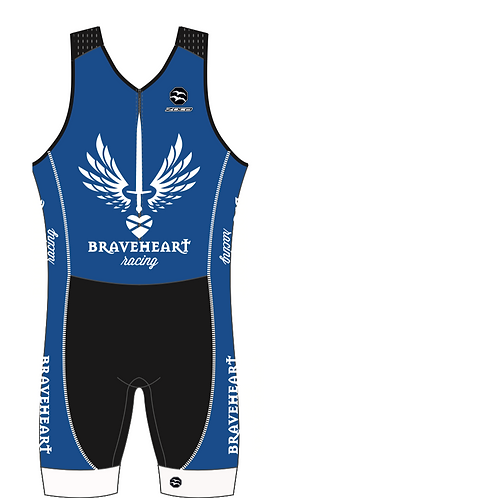 BRAVEHEART Men's Sleeveless AquaSpeed Tri Suit