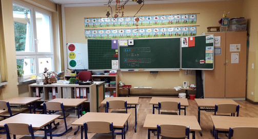 Klassenraum 1. Klasse