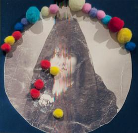 Woman with peineta (Engrams Series, 2016)