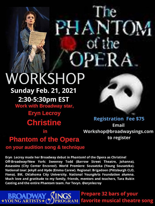 BSYA - Graphics - Workshop Ad - Phantom.