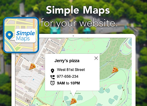 Simple Maps Overview | WIX App Market | Wix com