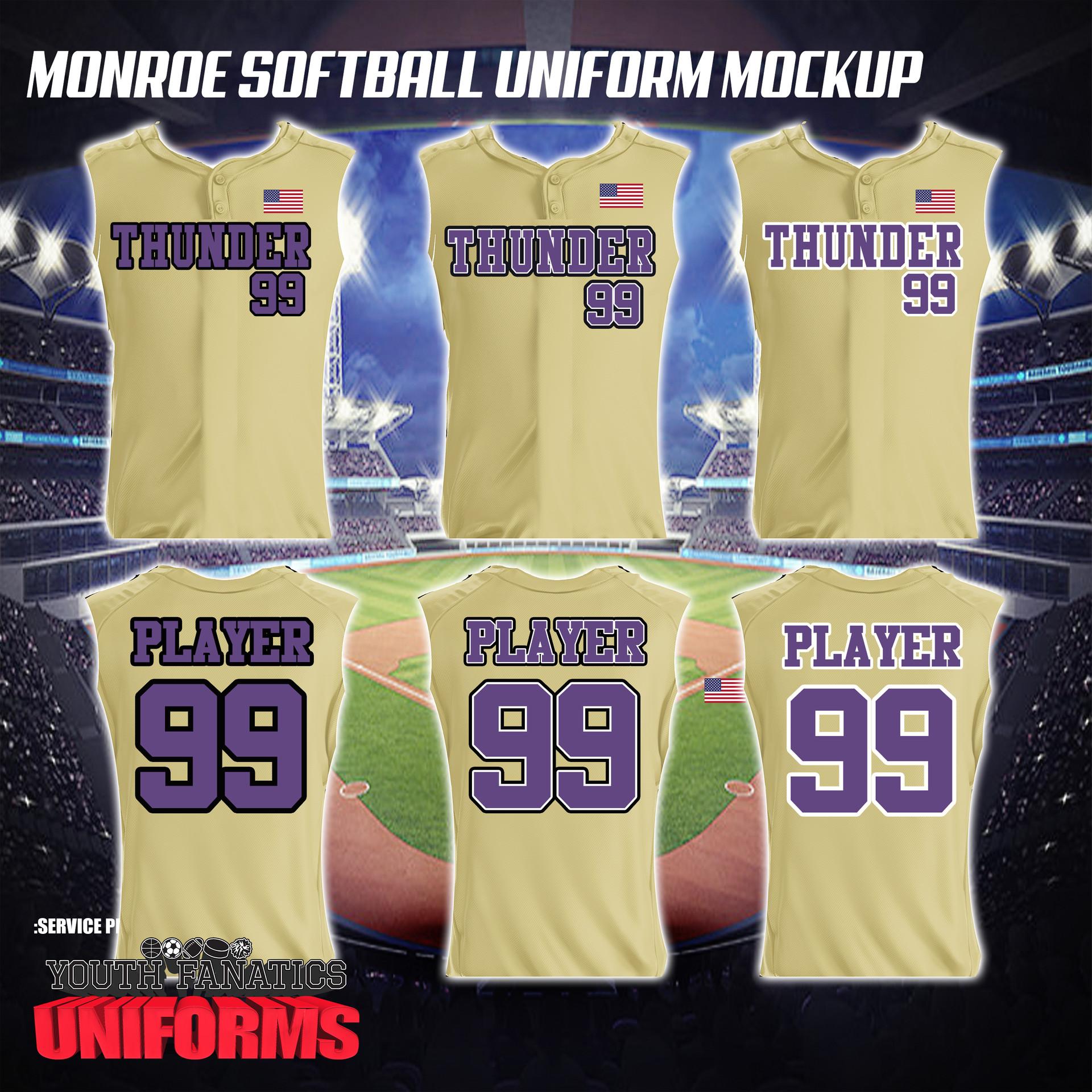 Thunder Softball Custom Gold Jersey-1.jpg