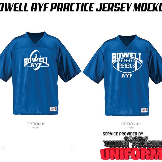 Howell AYF Custom AMerican Football Practice Jersey.jpg
