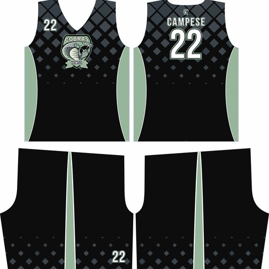 CUSTOM BASKETBALL JERSEY COBRAS 2019