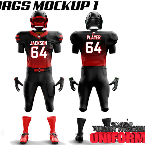Jakcson JAguars Custom American Football Uniform Revision 3jpg