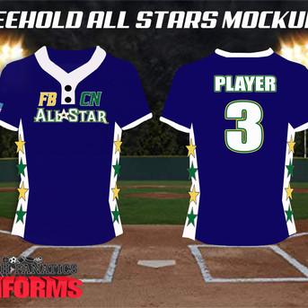 Little League All Star Custom Baseball J