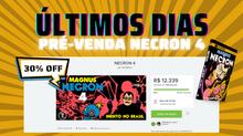 Necron 4 - últimos dias de pré-venda no Catarse.