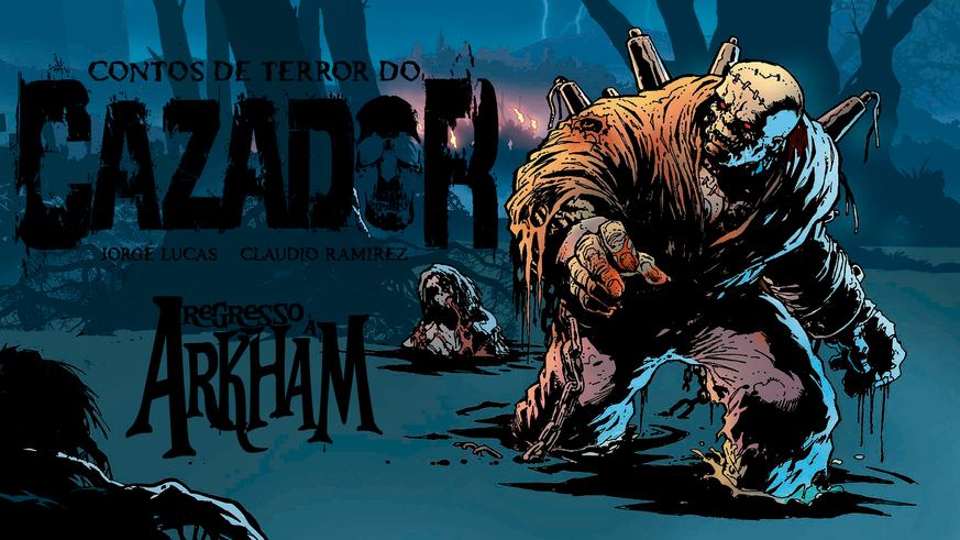 Lovecraft, Frankenstein e Leatherface no novo livro do Cazador
