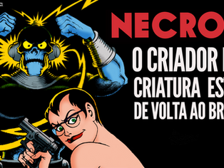 Necron. O criador e a criatura estão de volta ao Brasil!
