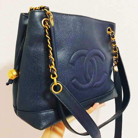 Fancy a luxurious navy blue caviar tote, ladies_ Exclusivity begins here _welovechanelsg.jpg