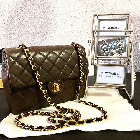 A little coffee brown for you, maybe_ #chanel #hermes #ysl #celine #igsg #sgstartup #luxury #brand #