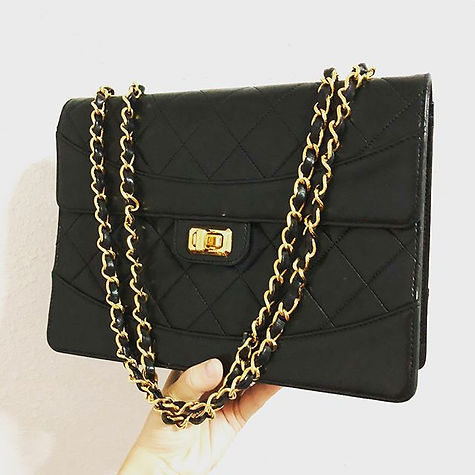 Chanel Vintage 90s Reissue 2.55 Lambskin Bag