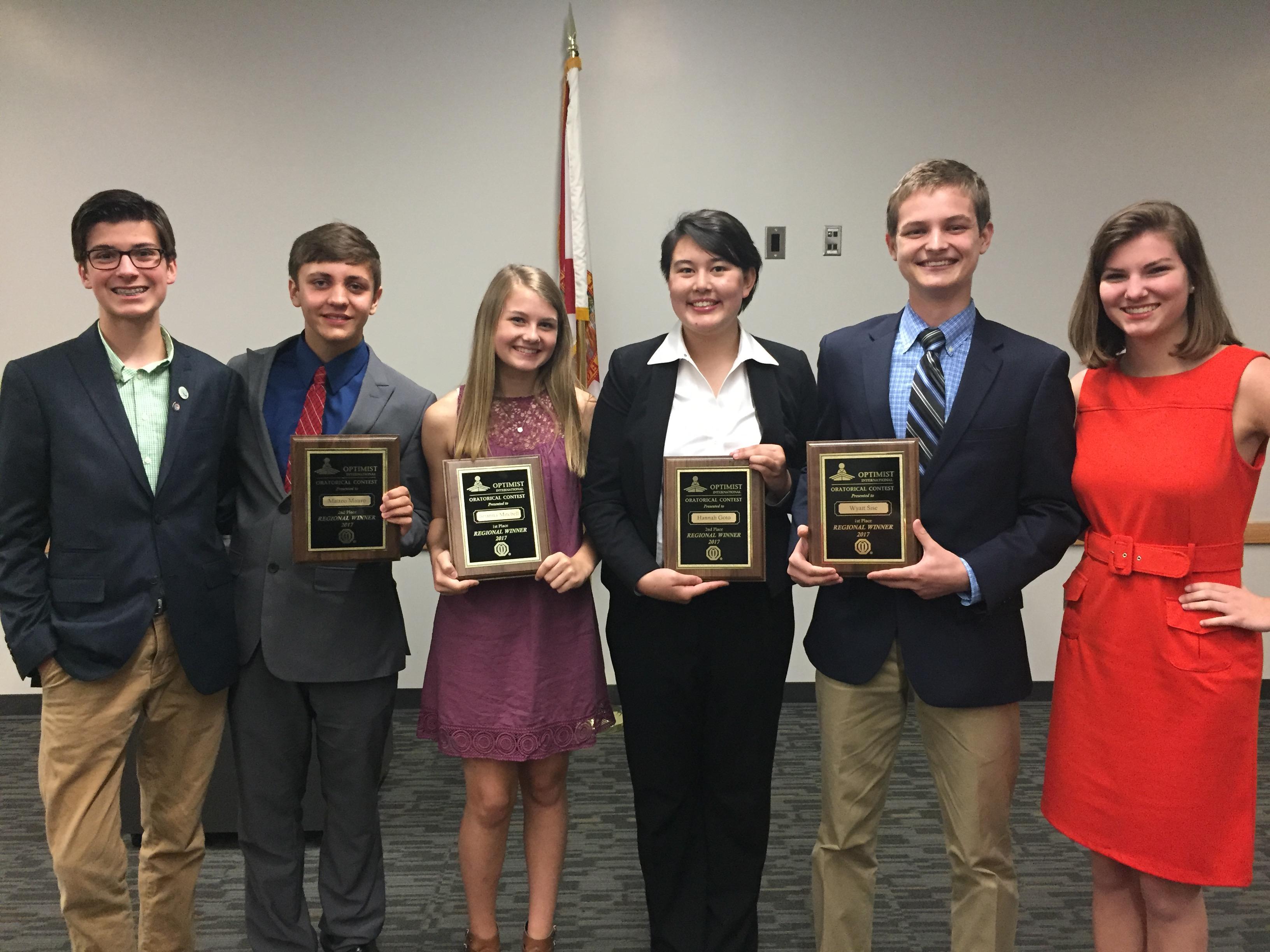 2017 Regional Winners