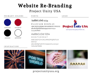 Project Unity USA Re-Branding