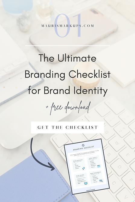 Brand Checklist Freebie