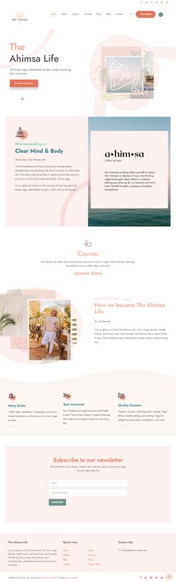 Ahimsa Life Website