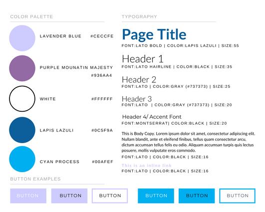 Font Style Guide