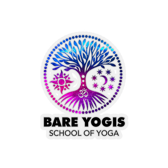 Bare Yogis Dye-Cut Sticker