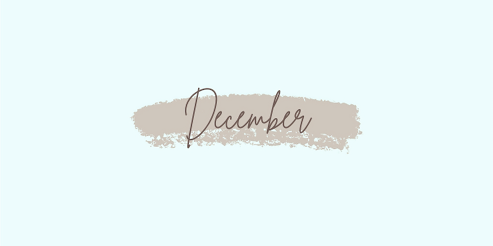 December: Week 3