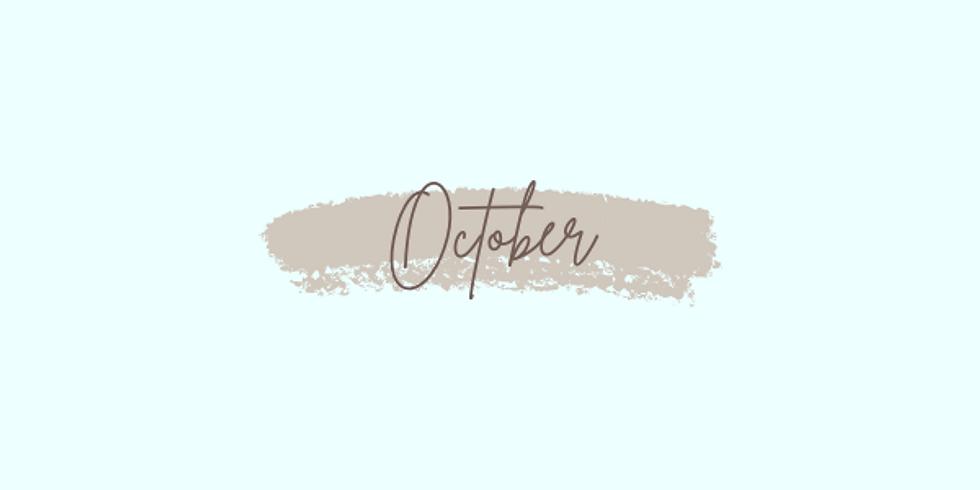 October: Week 3