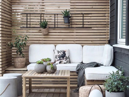 Consejos para la selección correcta en el mobiliario de una terraza