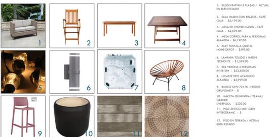 mobiliario y materiales