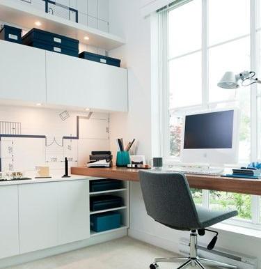 Convierte una parte de tu casa en una cómoda oficina