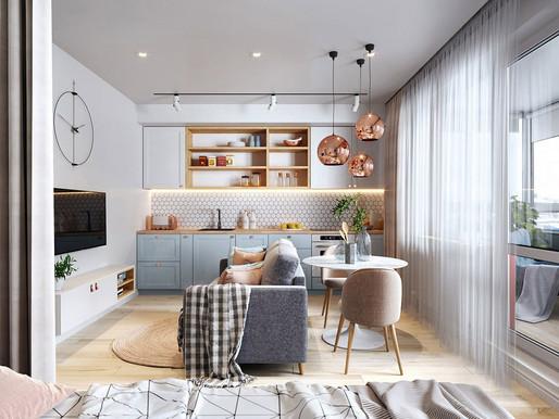 Tips para el diseño de interiores en hogares pequeños