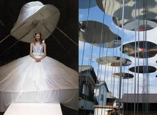 Vestidos de Novia y Arquitectura